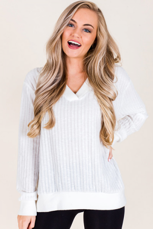 Murphy Pullover, Ivory