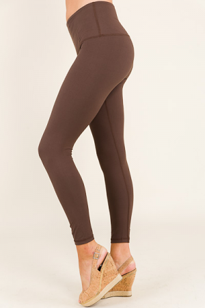 Butter Leggings, Brown