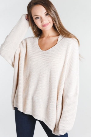 Tried and True Sweater, Ivory