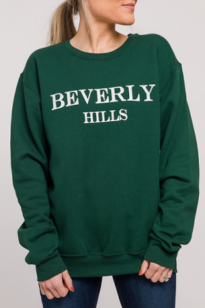 Beverly Hills Sweatshirt, Green