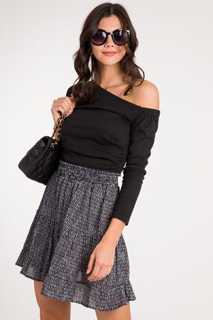 Black Diamond Skirt