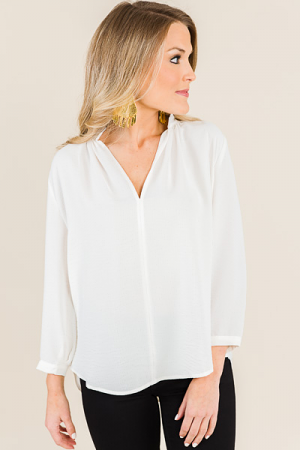 Priyanka Blouse, Off White