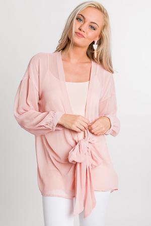 Rosie Tie Kimono