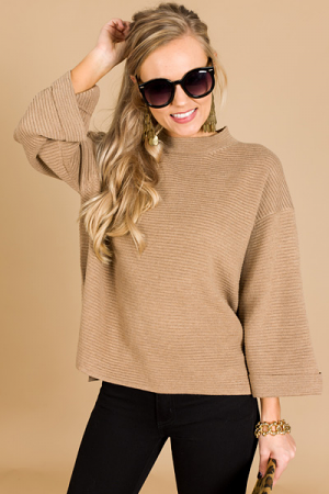 Toffee Shop Sweater