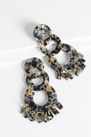 Acrylic Links Ear, Black