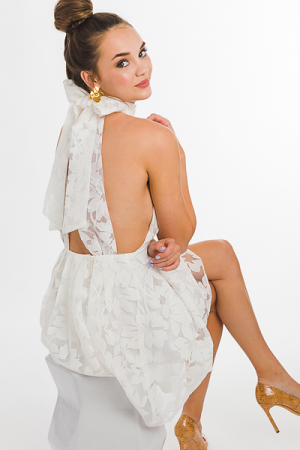 Miss Sophistication Dress, Ivory