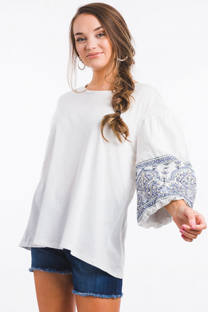 Moroccan Sleeves Tunic