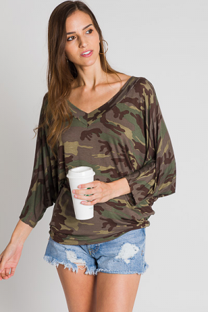 Army Cocoon Tee