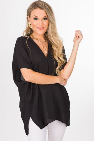 Vindrienne Tunic, Black
