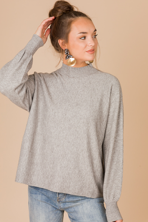 Sadie Sweater, Grey