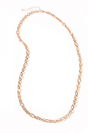 Single Layer Long Chain, Gold