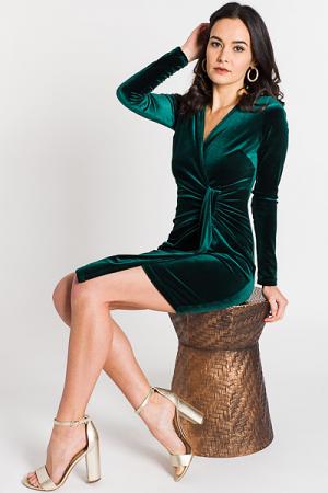 Holly Velvet Dress