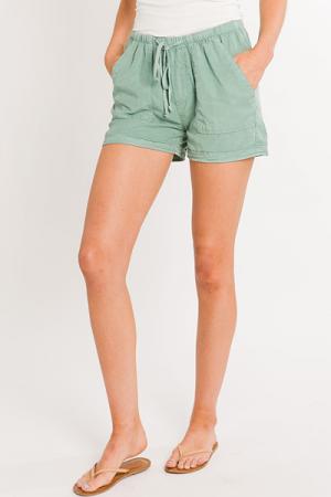 Hazel Shorts, Olive