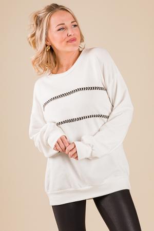 Direction Stitched Sweatshirt