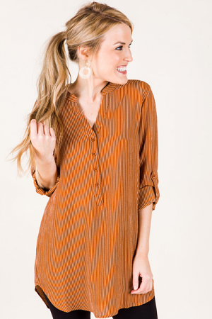 Pumpkin Stripes Tunic