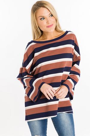 Neo Striped Sweatshirt