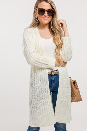 Hope Sweater Cardigan, Ivory