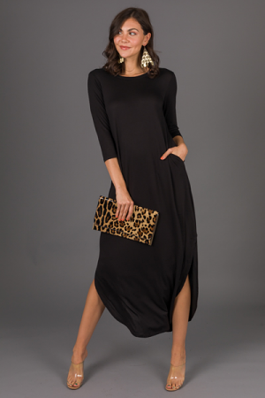 Best Basic Maxi, Solid Black