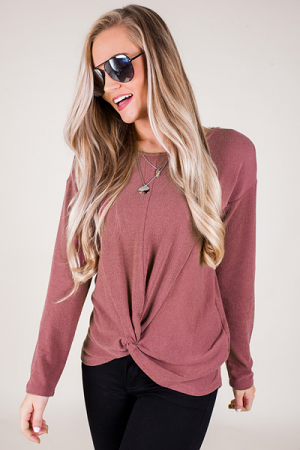Taylor Twist Front Top