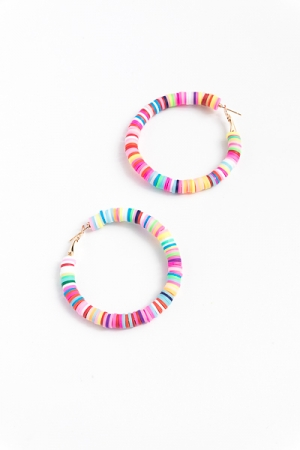 Rubber Rainbow Hoops