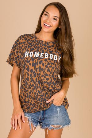 Homebody Leopard Tee