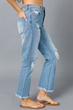 Kate Distressed Jeans, Eden