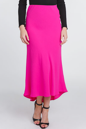Elle Maxi Skirt, Hot Pink