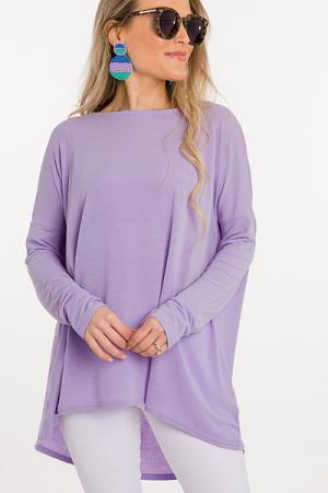 Favorite Everyday Tunic, Lavender