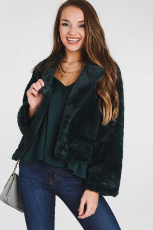 Fur Coat, Emerald