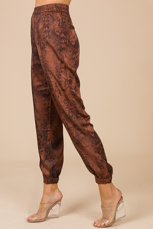 Shadows Jogger Pant, Brown